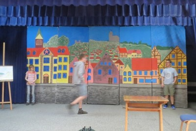 "Achtklassspiel ""Das Fliegende Klassenzimmer"" (Juni 2015)"