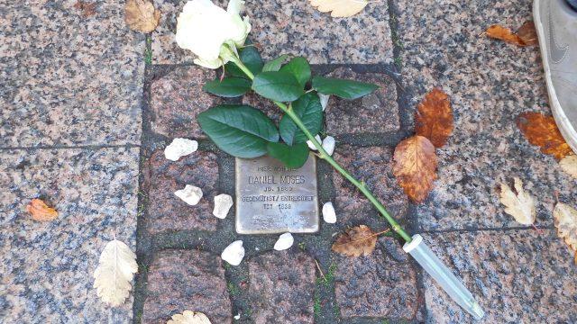 Gedenken zur Pogromnacht am 09. November 2018