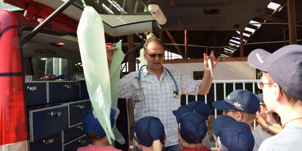 Ausflug der 2. Klasse zum Milchhof