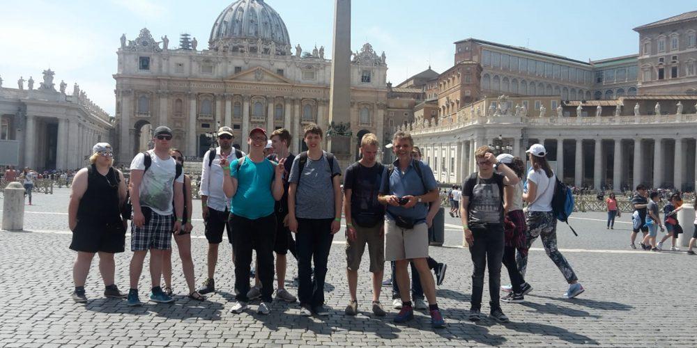 Kunstfahrt der 12. Klasse nach Italien