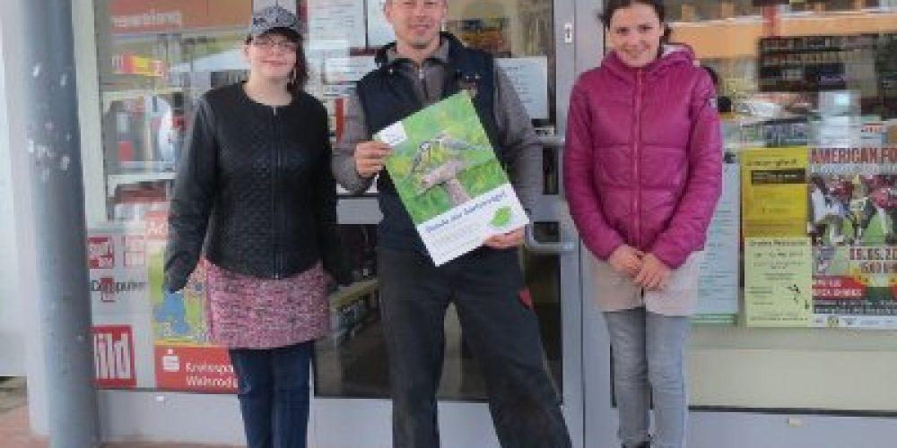 """Schüler der IWS werben für die """"Stunde der Gartenvögel"""""""
